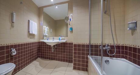 Standard Værelse bad/WC