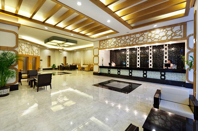 Reception og lobby