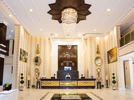 Sah Inn Paradise reception